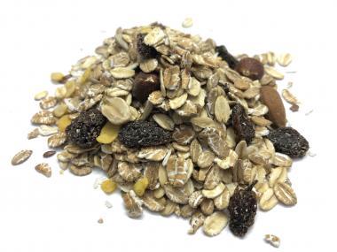 Nagerfutter mit Haferflocken, Nüssen und Rosinen 5 Kg